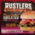 Vretecool - Rustlers Flame Grilled Burger Deluxe met Bacon & Cheese